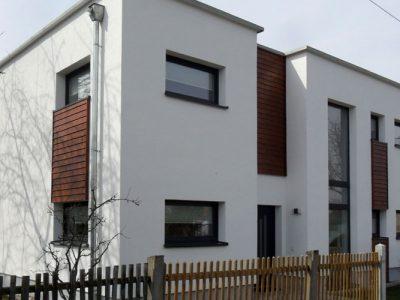 Bauhaus-Stil: Dolomit 183 - Blick auf den Hauseingang