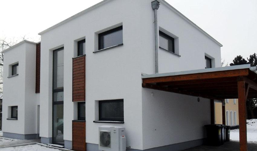 bauhaus stil dolomit 183 zweigeschossiges wohnhaus mit innenhof. Black Bedroom Furniture Sets. Home Design Ideas