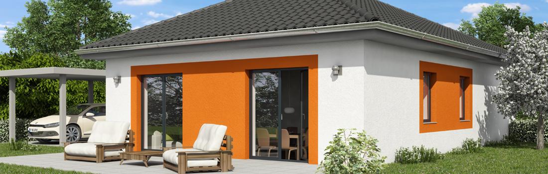 Bungalow OPAL 83 - Die Terrasse