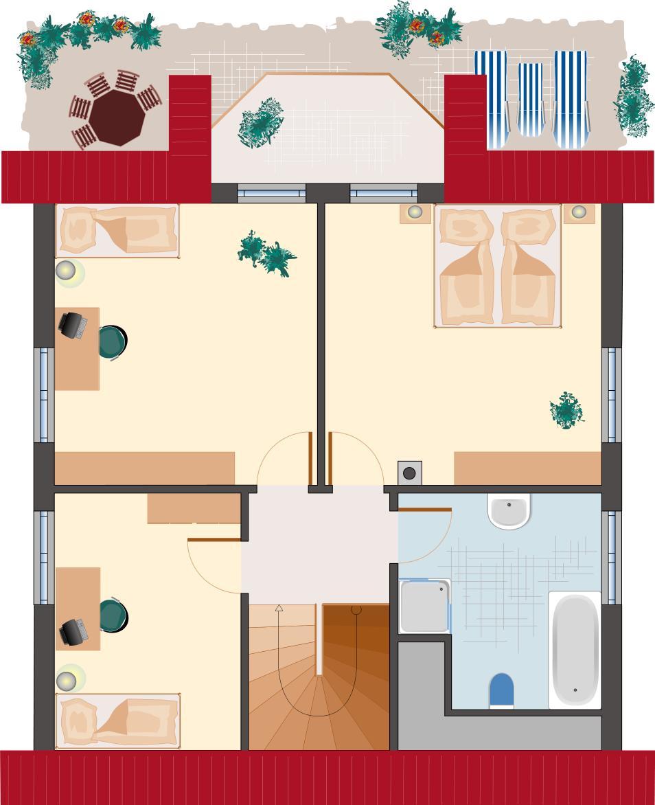 Landhaus Smaragd 133 - Dachgeschoss