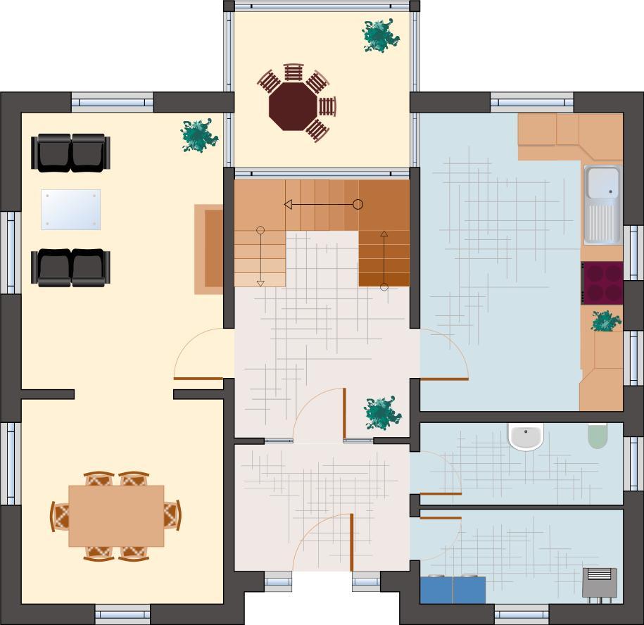 Klassiker-Stil: Zirkon 180 - Erdgeschoss