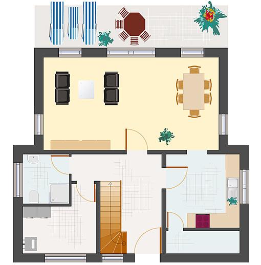 96 wohnzimmer 30 qm huus fresena 30 qm wohnzimmer. Black Bedroom Furniture Sets. Home Design Ideas