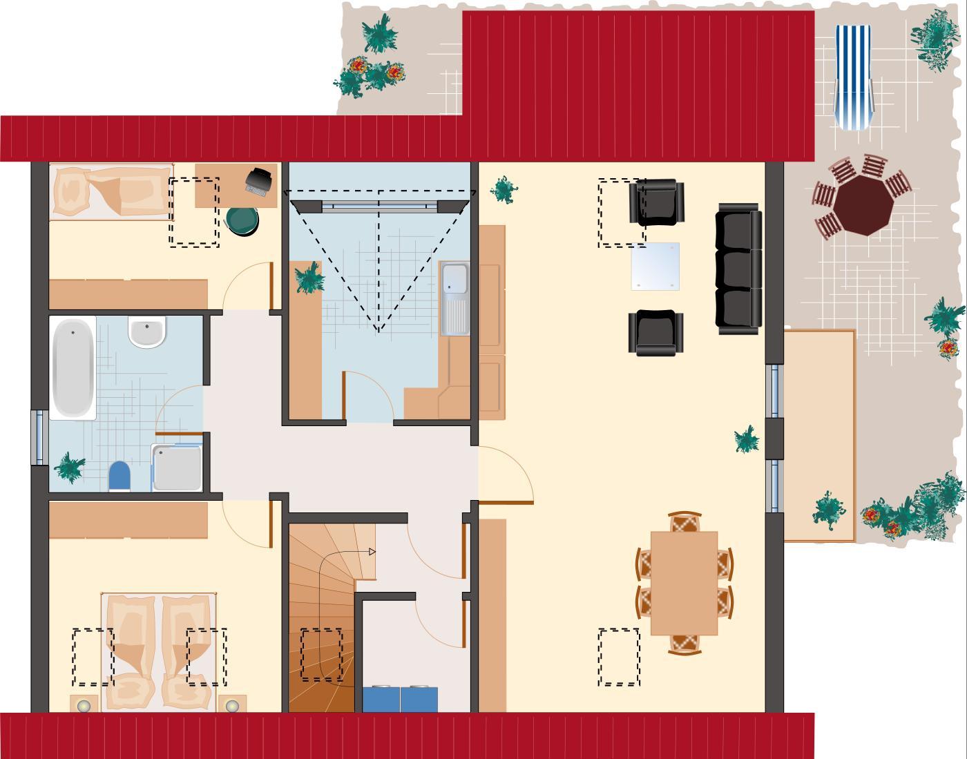 Architektenhaus: Amethyst 217 - Dachgeschoss