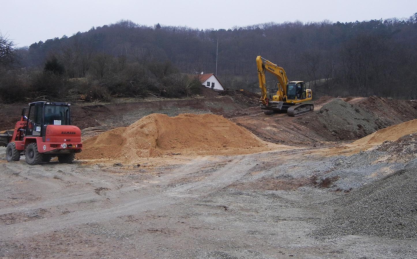 Wohngebiet Jena Ilmnitz - Baubeginn 2014