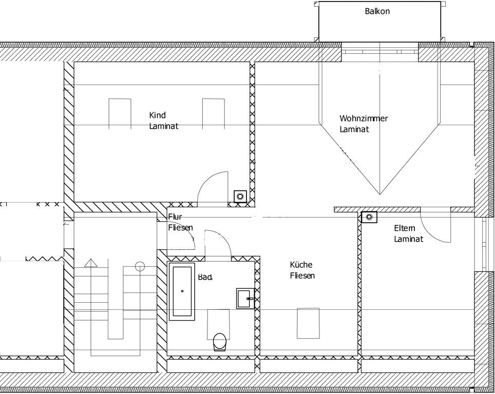 Sanierung MFH Schösserstrasse - Dachgeschoss