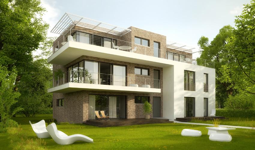 Wohn- und Geschäftshaus: Rendering 2