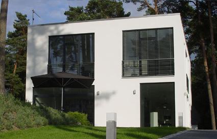 Sicherheiten - Massivhaus im Bauhaus-Stil